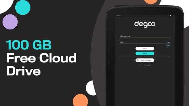 Degoo free cloud storage up to 200 GB