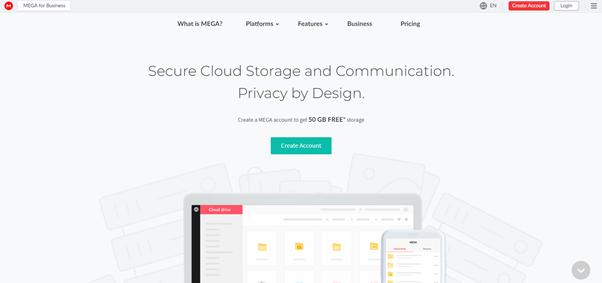 Mega free cloud storage - Get 200 GB free cloud storage