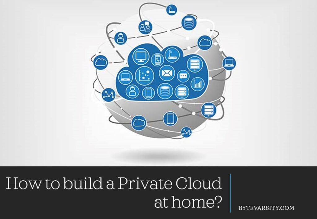 How to build a private cloud at home
