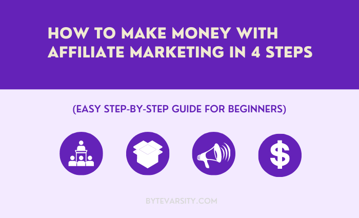 4 Steps How to Make Money with Affiliate Marketing (An Ultimate Guide for Beginners)